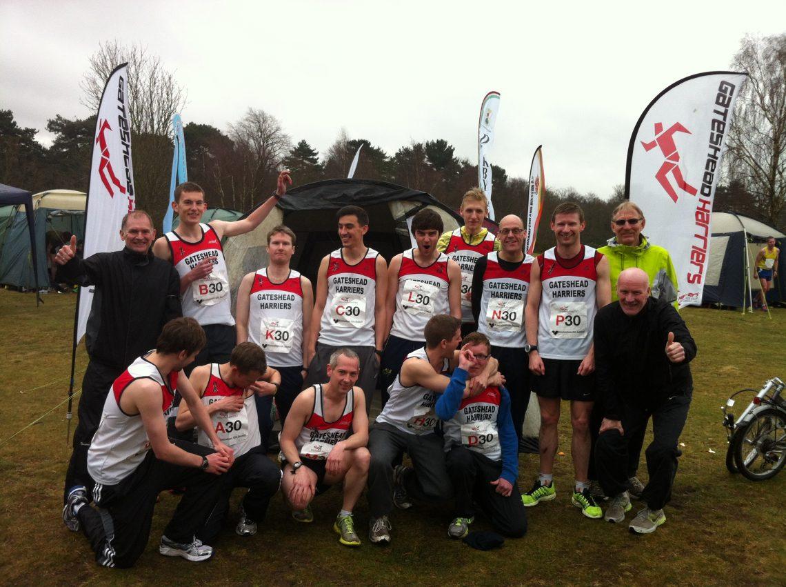 gateshead harriers road relays team
