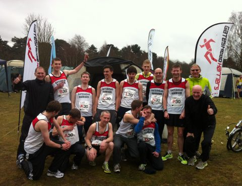 gateshead harriers road relays team