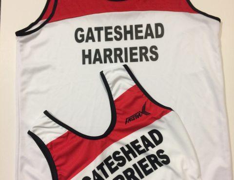 Gateshead Harriers Vest Crop Top