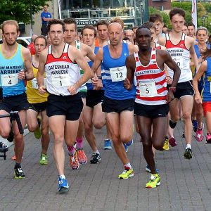 Quayside 5k Race Start 2017