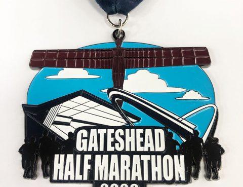 Gateshead Half Marathon Medal